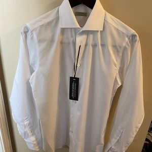 Z Zegna wash n go men's dress shirt S